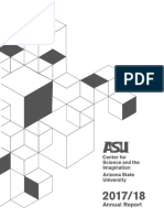 ASU Center for Science and the Imagination Annual Report 2017-18