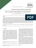 Structural Optimization Using Evolutionary Algorithms