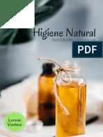 HIGIENE NATURAL - Apostila (Segunda Edição)