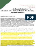 estado subsidiario y ed como bien de consumo.pdf