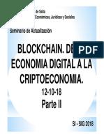 Blockchain Clase 3-2 (12!10!18) Parte II