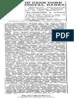 Postal Savings Depositories 1911