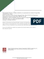 Historiografia y Estudios Coloniales