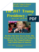 Trump Presidency 11 - July 13 , 2017 – July 29, 2017
