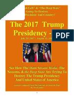 Trump Presidency 12 - July 29, 2017 – August 11, 2017