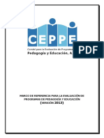 Marco de Referencia CEPPE 2013