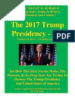 Trump Presidency 16 - October 23, 2017 – November 14, 2017