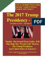 Trump Presidency 17 - November 14, 2017 – December 6, 2017