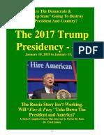 Trump Presidency 20 - January 10, 2018 to January 15, 2018
