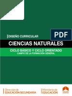 diseño curricular Cienciasnaturales