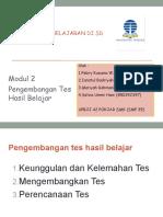 Evaluasi Pembelajaran - Modul 2 - Resume Kelompok 2