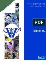 Memorias 2do Simposio Bayer P.E
