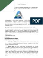 Unit IV Project Management