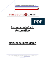 Manual Instalacion Pressure Guard - Cotrapsa