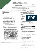 Emily Morissette arrest document