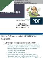 Genetika Mendel (Amel-heny)