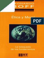 BOFF, L., Etica y Moral. La Busca de Los Fundamentos, Sal Terrae, 2003