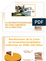 INSCONSTITUCIONALIDAD EN CASO CONCRETO  práctica.pps