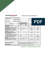Especificaciones Asfalto 60-70 Petroperú