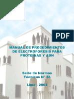 Manual de Electroforesis de Proteinas
