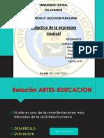 Relacion Artes Educacion