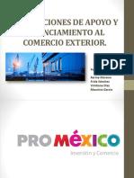 Presentación Tema - 5 y 6 INSTITUCIONES DE APOYO Y FINANCIAMIENTO AL COMERCIO EXTERIOR.pptx