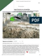 Torrenteras, Un Riesgo Latente en Arequipa _ Diario Correo