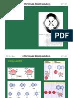 Estrutura do dna e proteínas