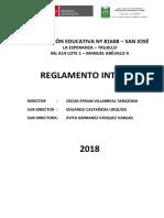 2 Reglamento Interno San Jose 2018