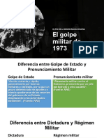 El Golpe Militar de 1973