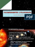 Voltamperometría i. Polarografía