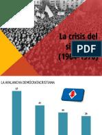 La Crisis Política de Los 60's