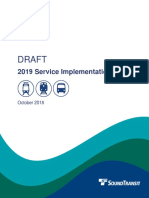Sound Transit - 2019 Draft SIP