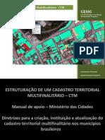 Cadastro Territorial Multifinalitrio CCTTM