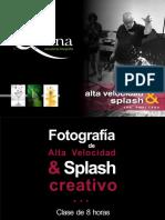Qhana Fotografía de Alta Velocidad Splash Con Omar Cayo