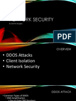 DDOS Attacks and MikroTik by Dennis Burgess