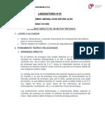 Arranque Directo - Lab1