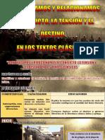3.  IDENTIFICA Y RELACIONA EL CONFLICTO EN TEXTOS CLÁSICOS  - SESIÓN DE APRENDIZAJE