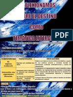 1. REFLEXIONAMOS SOBRE EL DESTINO COMO TEMÁTICA LITERARIA   - SESIÓN DE APRENDIZAJE