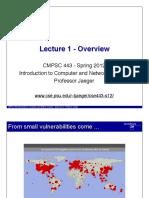 Cse443 Lecture 1 Introduction