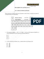 3462-Mini ensayo N° 4 Química 2016