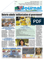 Asian Journal May 4 2018 Edition Rodrigo Duterte Academic Degree