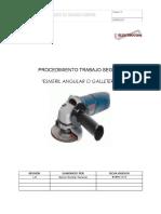 Procedimiento Trabajo Seguro Esmeril Angular o Galletero - PDF