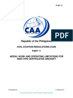 What are the requirements for Drone Photography Permit in the Philippines?