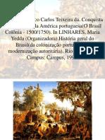 Conquista e Colonização Da América Portuguesa