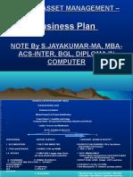 Hotel Asset Management Business Plan