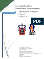 Modelo OSI y protocolo Ethernet