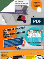 JUKNIS Festival Inovasi dan Kewirausahan Siswa 2018