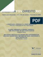 Cadernos de direito fgv