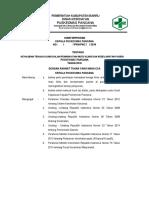 9.1.1 Ep 1 Sk Kewajiban Tenaga Klinis Dalam Peningkatan Mutu Klinis Kesehatan Pasien